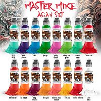 WF Master Mike Asian Tattoo Set