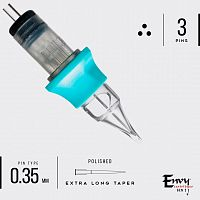 Envy Gen2 Cartridges. Round Liner Extra Long 0,35 mm (10 шт)