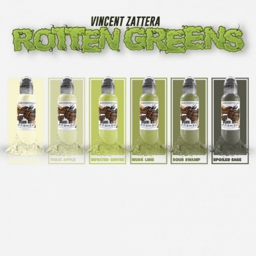 Vincent Zattera Rotten Green Set