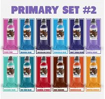 WF Primary Color Ink Set #2